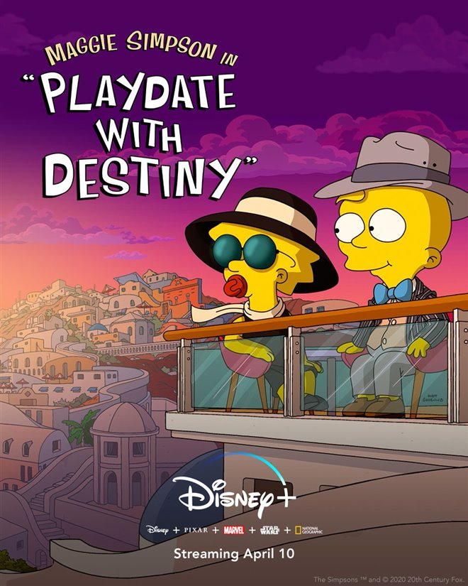 Maggie Simpson in 'Playdate With Destiny' (Disney+) Large Poster