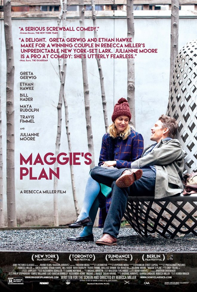 Maggie's Plan (v.o.a.) Large Poster