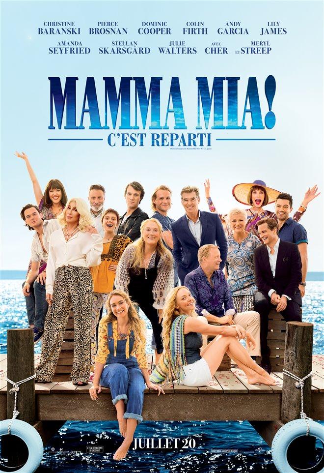 Mamma Mia ! C'est reparti Large Poster
