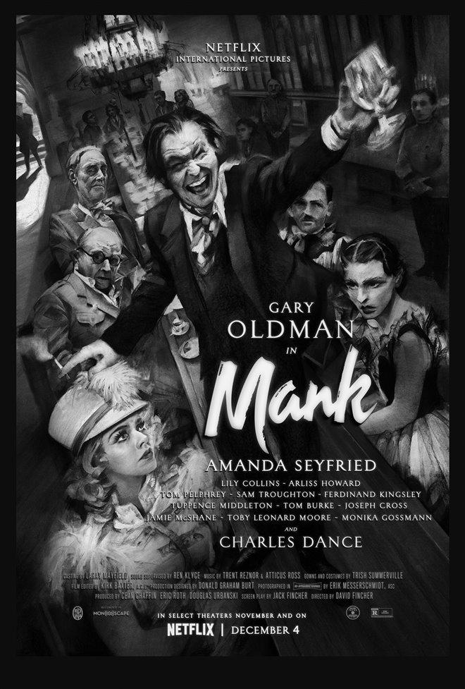 Mank (Netflix) Poster