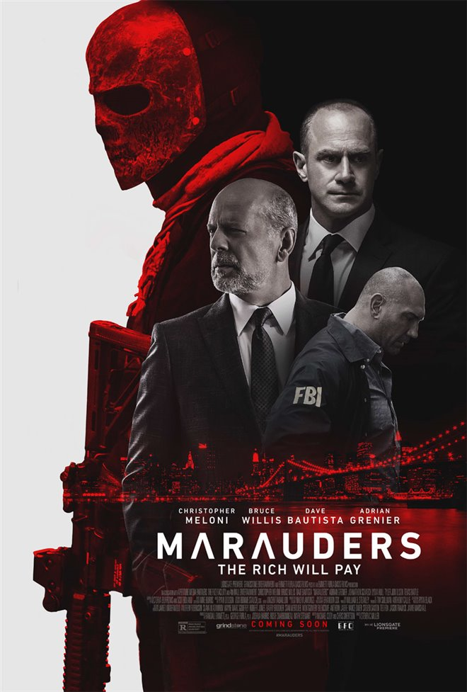 Marauders Large Poster