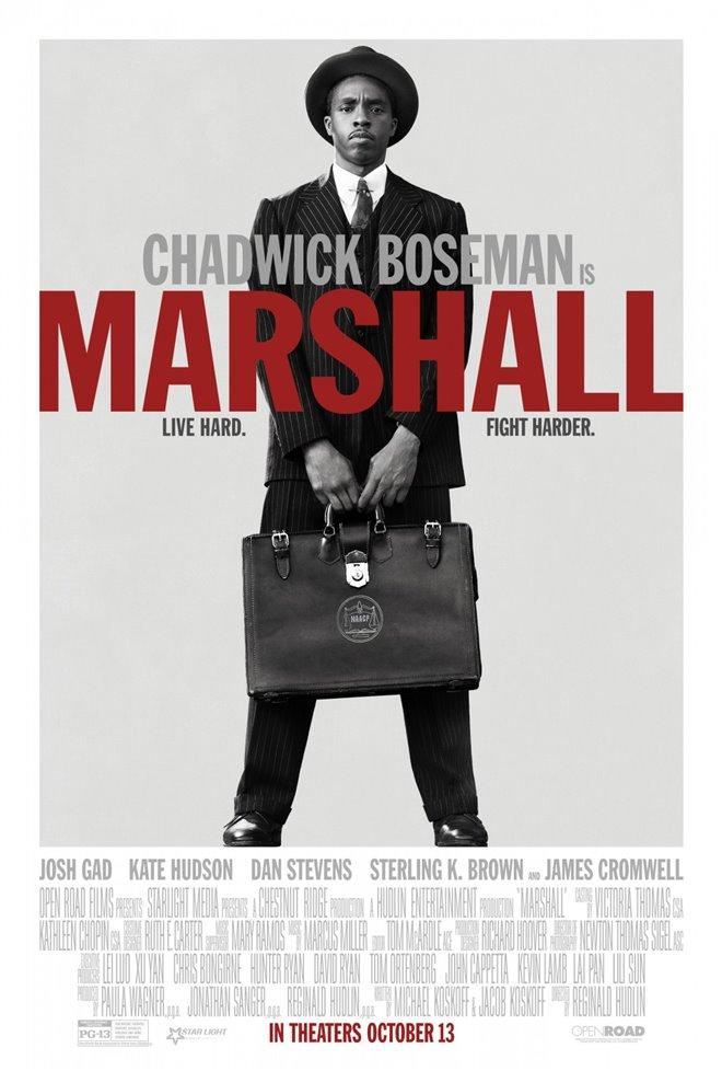 Marshall : La vérité sur l'affaire Spell Large Poster