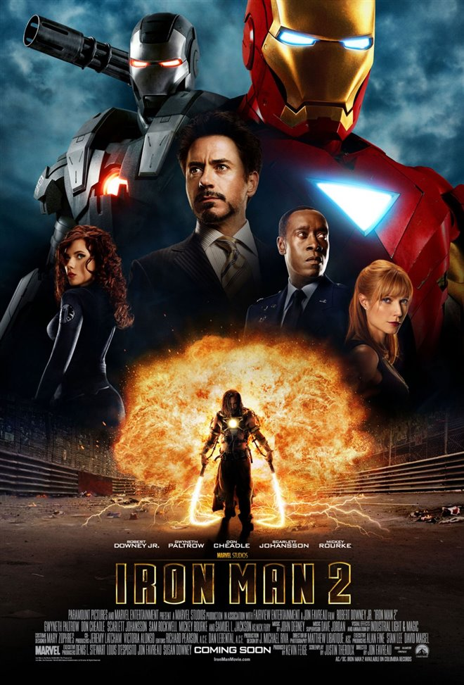 Marvel Studios 10th: Iron Man 2 (IMAX) Large Poster