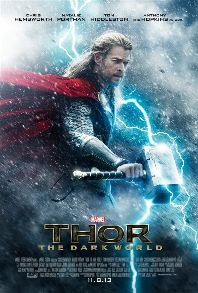 Marvel Studios 10th: Thor: The Dark World (IMAX 3D) Large Poster