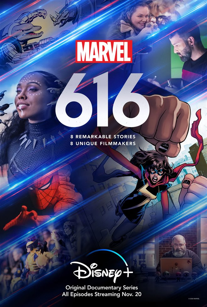 Marvel's 616 (Disney+) Large Poster