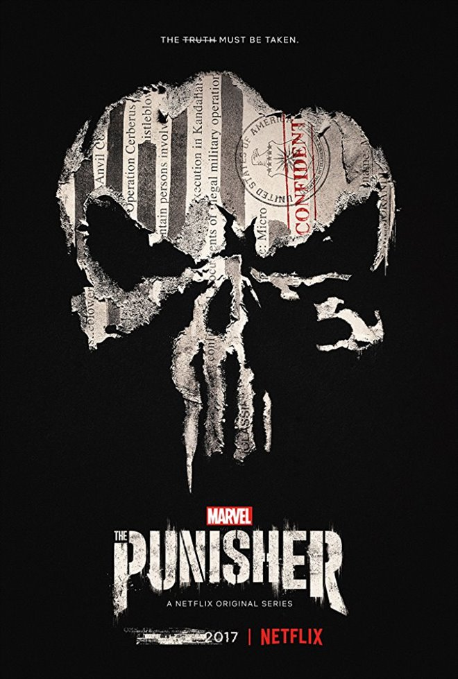 Marvel's The Punisher (Netflix) Large Poster