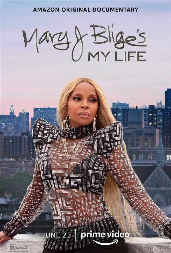 Mary J. Blige's My Life (Amazon Prime Video) Large Poster