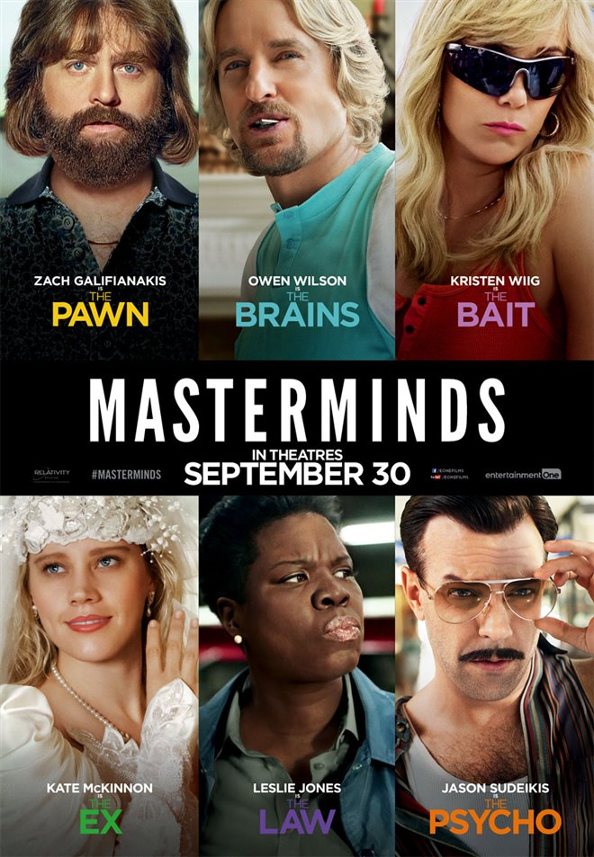 Masterminds Large Poster