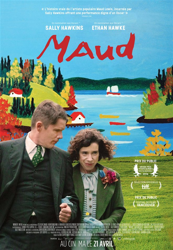 Maud Large Poster