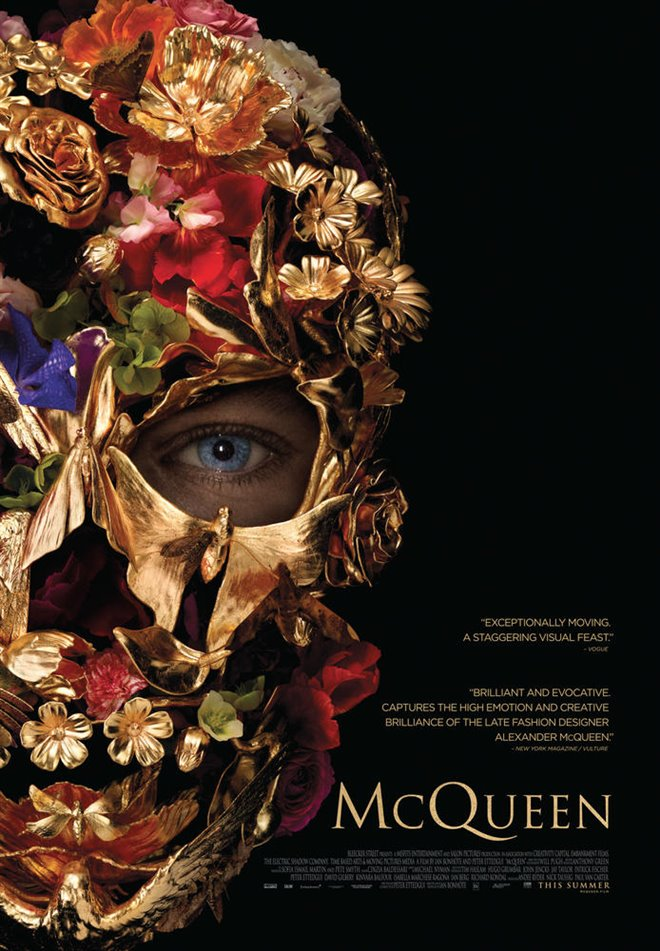 McQueen (v.o.a.) Large Poster