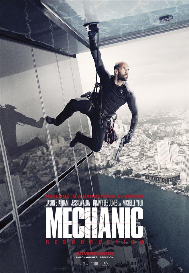 Mechanic: Resurrection Large Poster