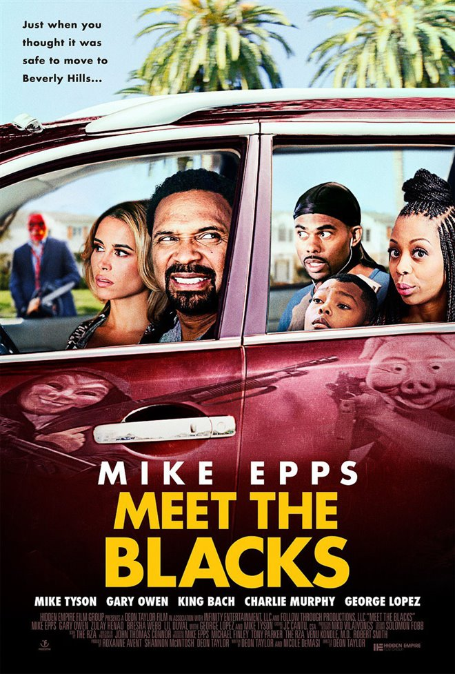 Meet the Blacks Large Poster