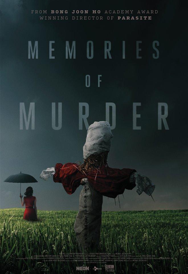 Memories of Murder (Remastered) Poster