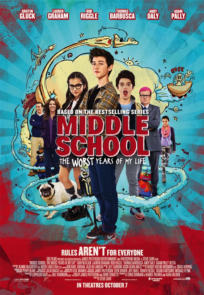 Middle School: The Worst Years of My Life Large Poster