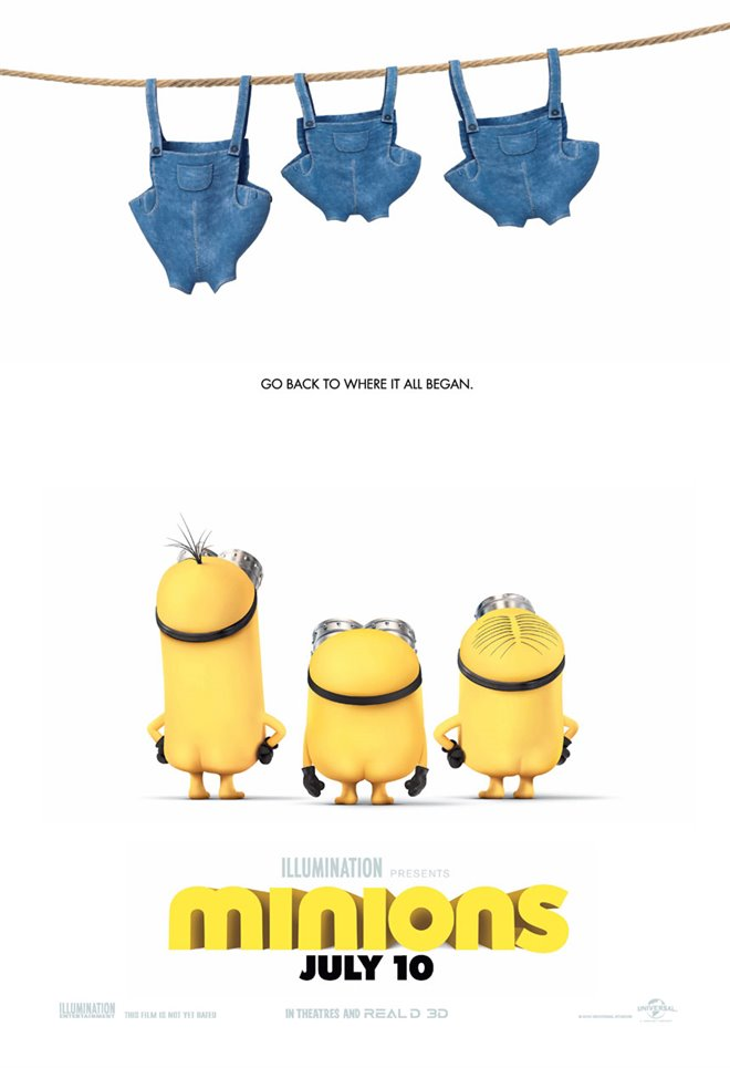 Minions Large Poster