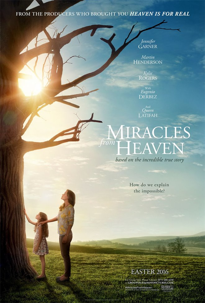Miracles From Heaven Large Poster