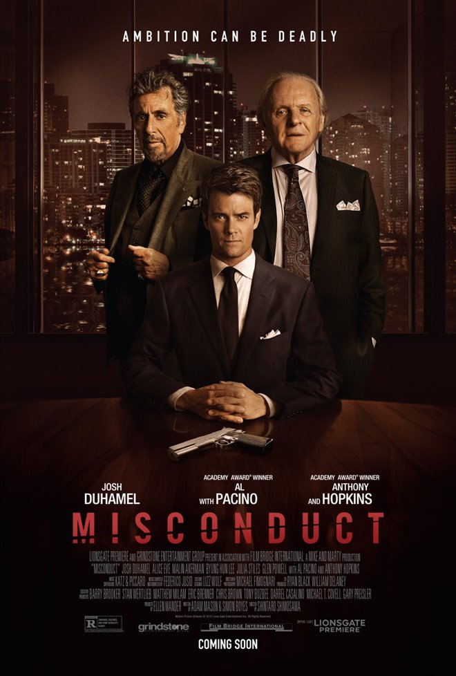 Misconduct Large Poster