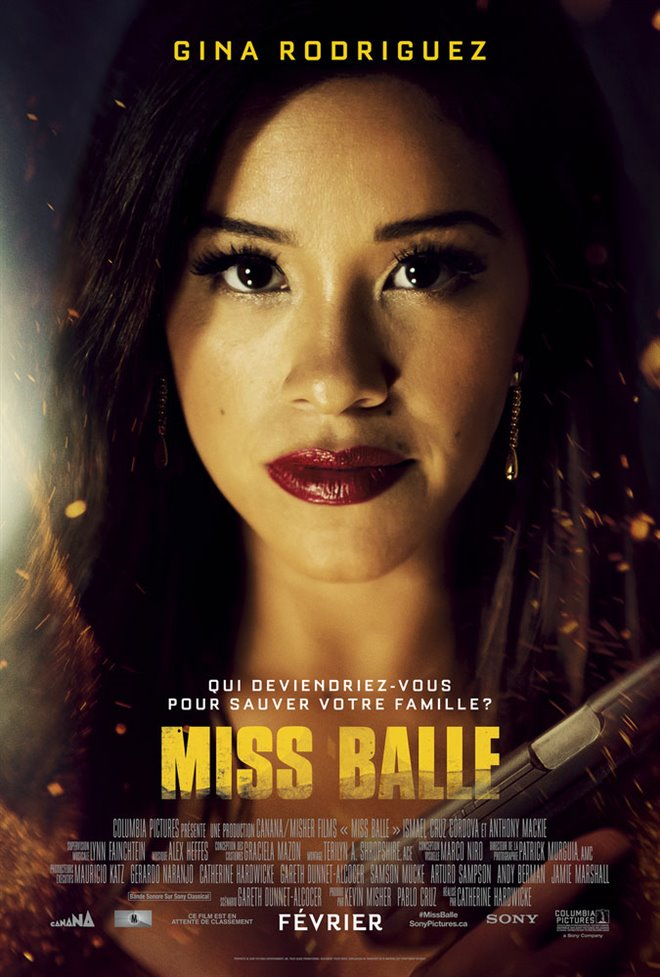Miss Balle Large Poster