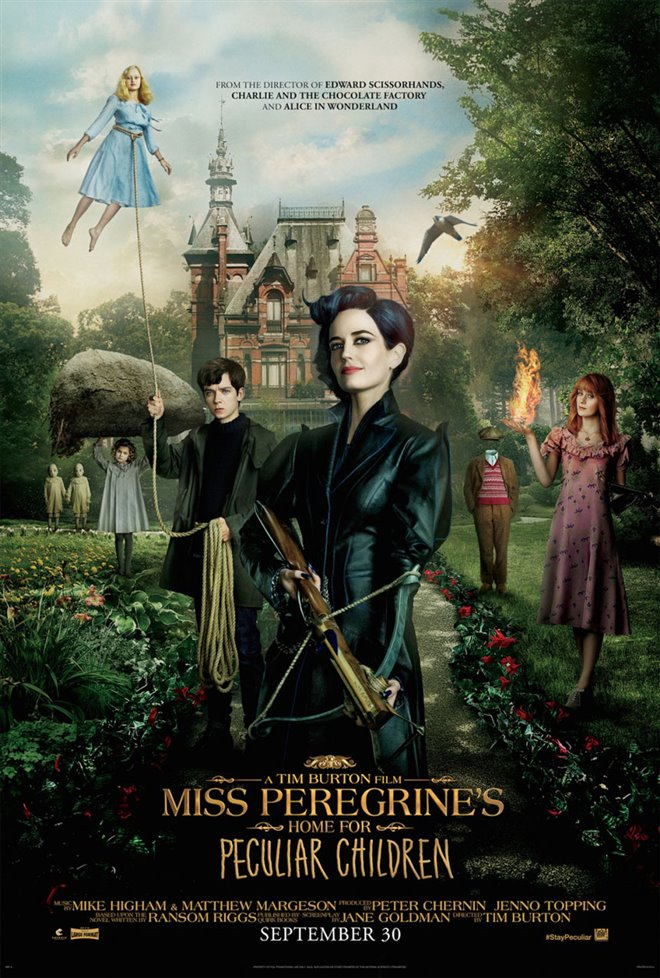 Miss Peregrine's Home for Peculiar Children Large Poster