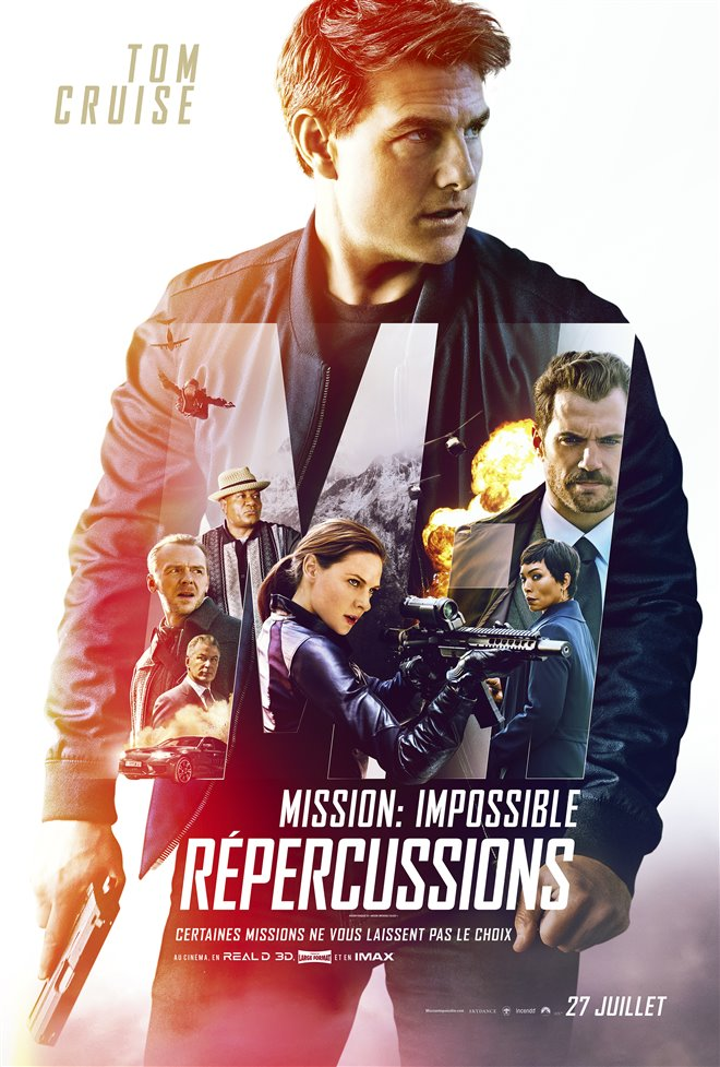 Mission : Impossible - Répercussions Large Poster