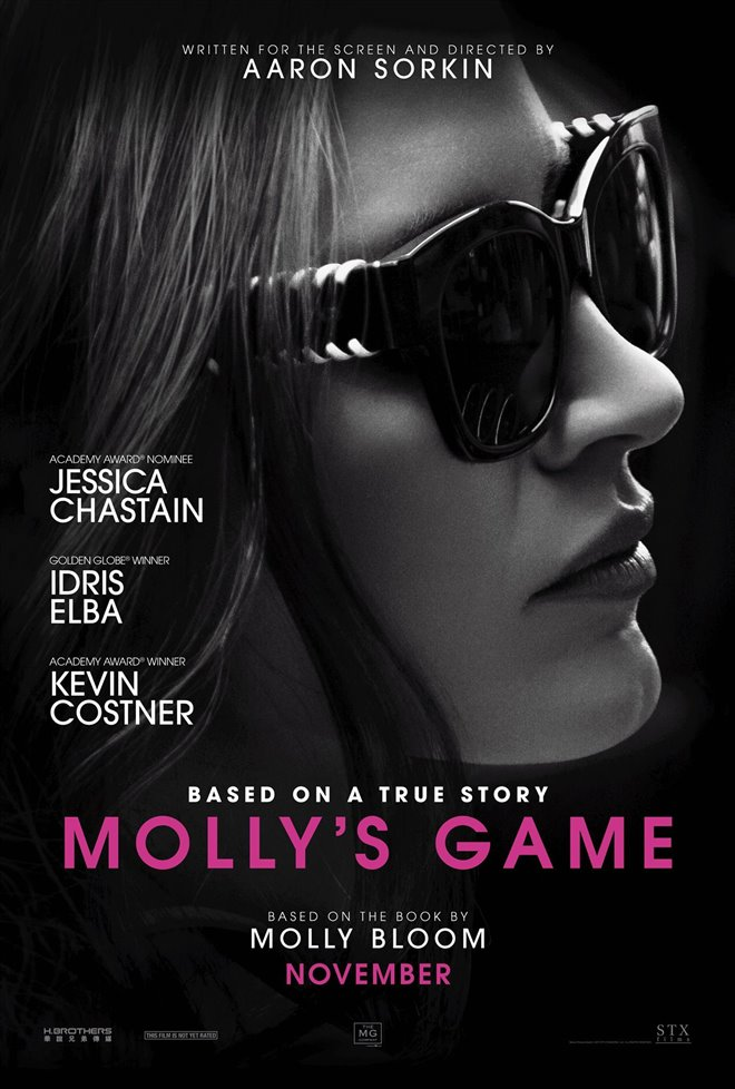 Molly's Game Large Poster