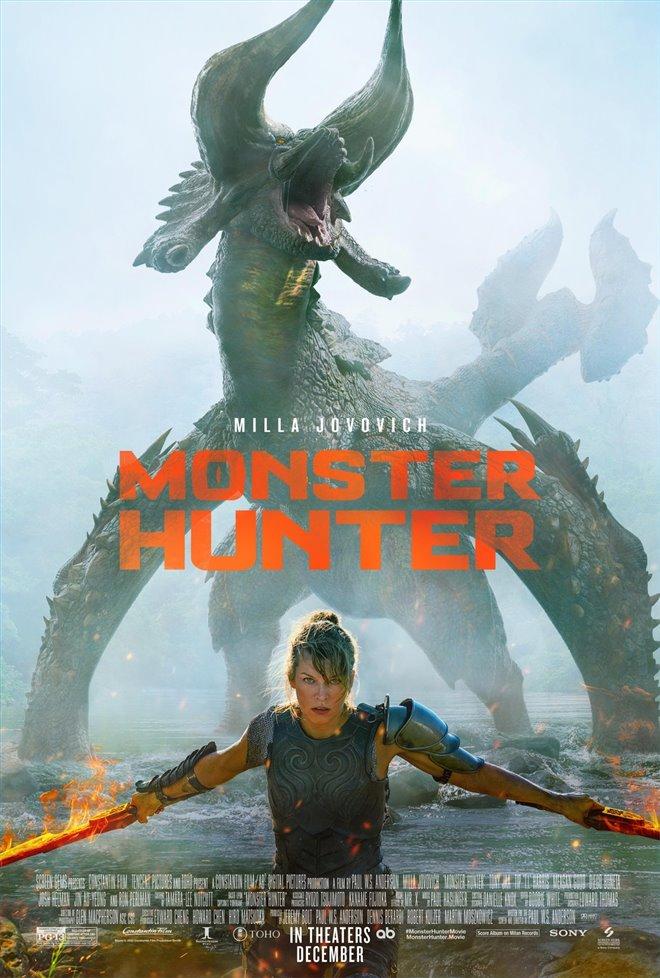 Monster Hunter Large Poster