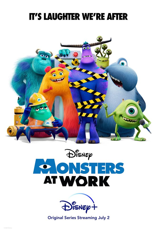 Monsters at Work (Disney+) Large Poster