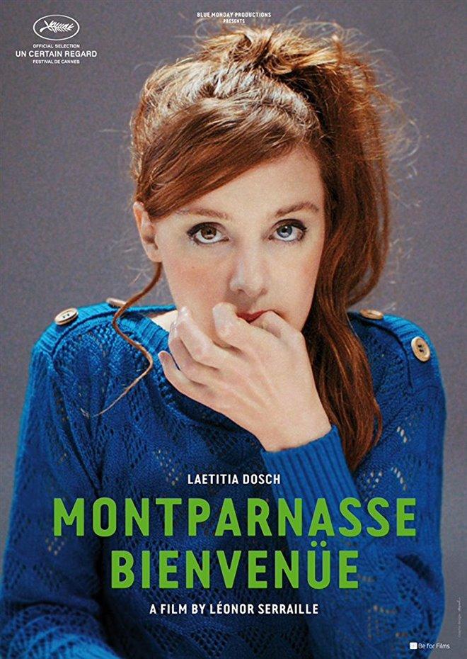 Montparnasse Bienvenue Large Poster