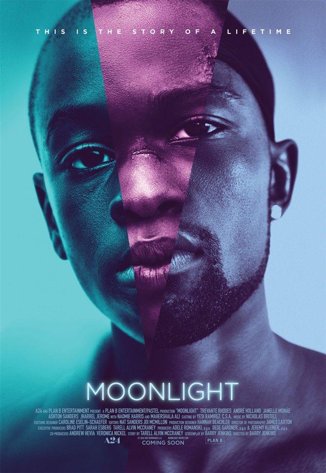 Moonlight : L'histoire d'une vie Large Poster