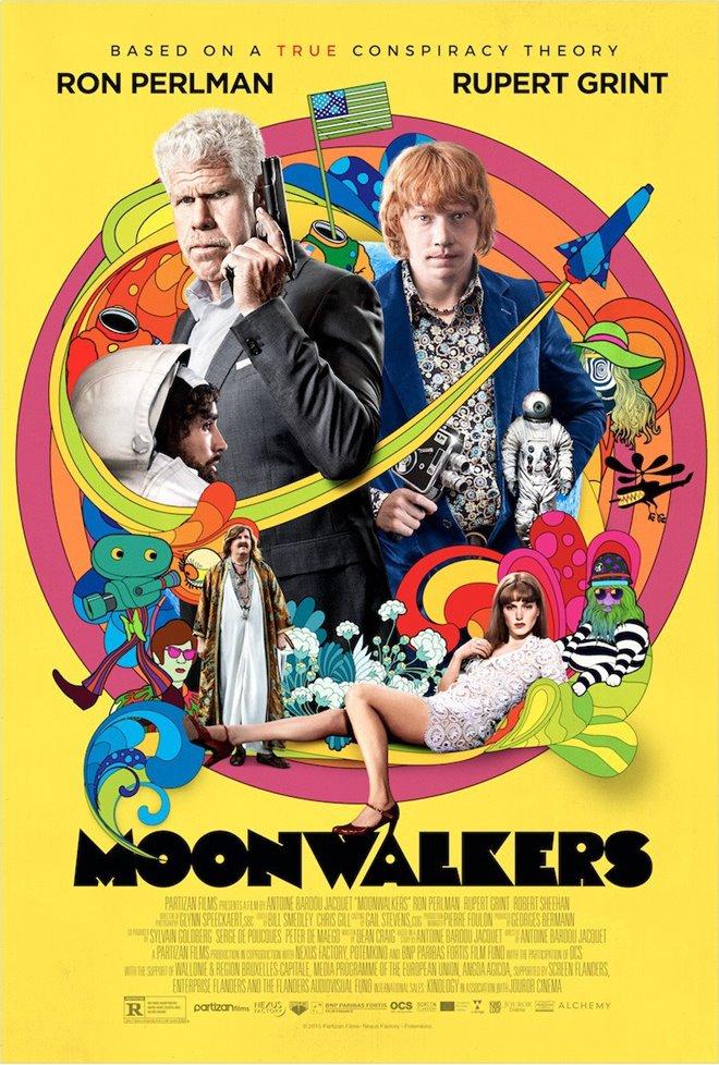 Moonwalkers Large Poster