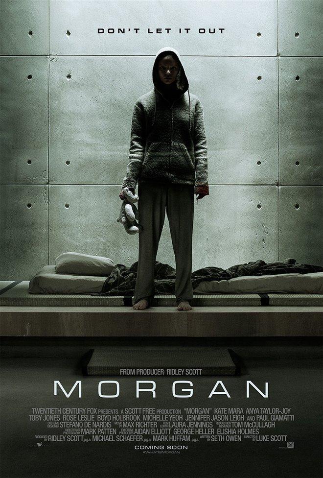 Morgan Large Poster