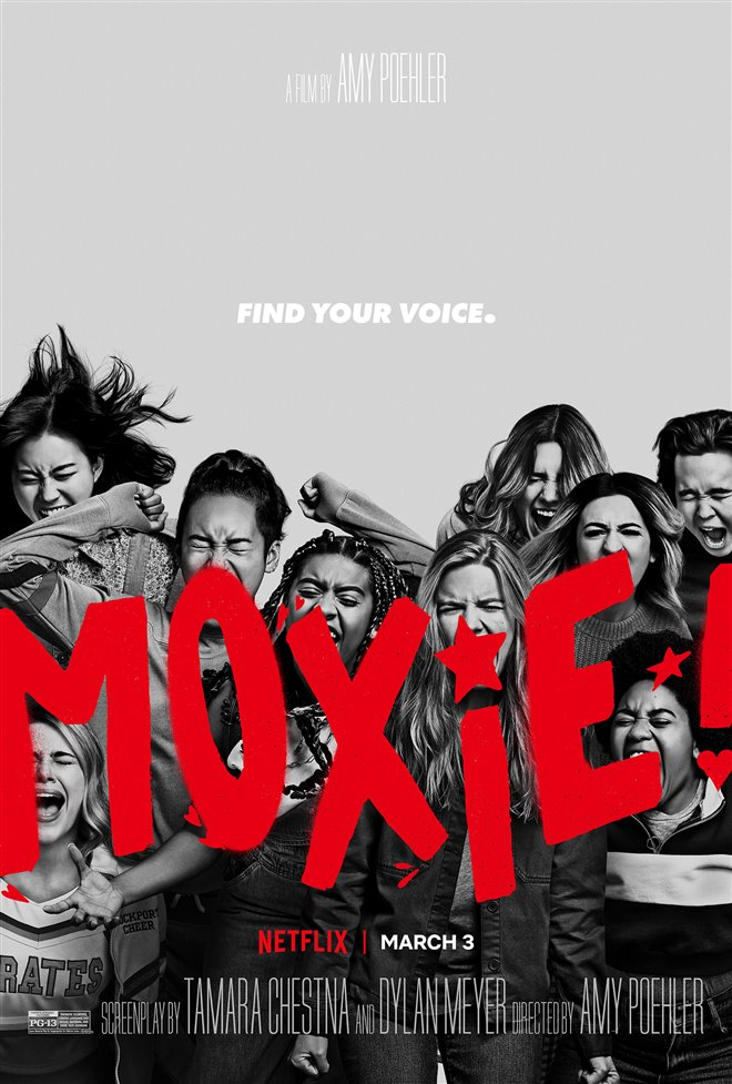 Moxie (Netflix) Large Poster