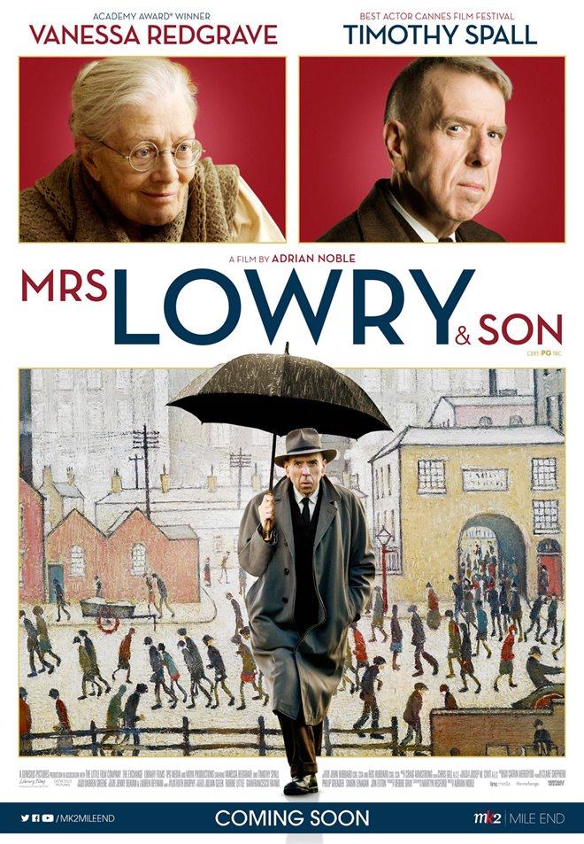 Mrs. Lowry & Son Poster
