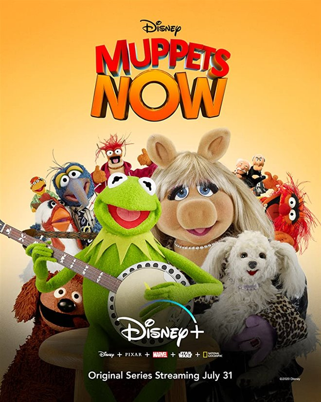 Muppets Now (Disney+) Poster
