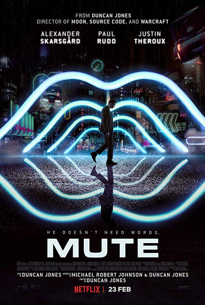 Mute (Netflix) Large Poster