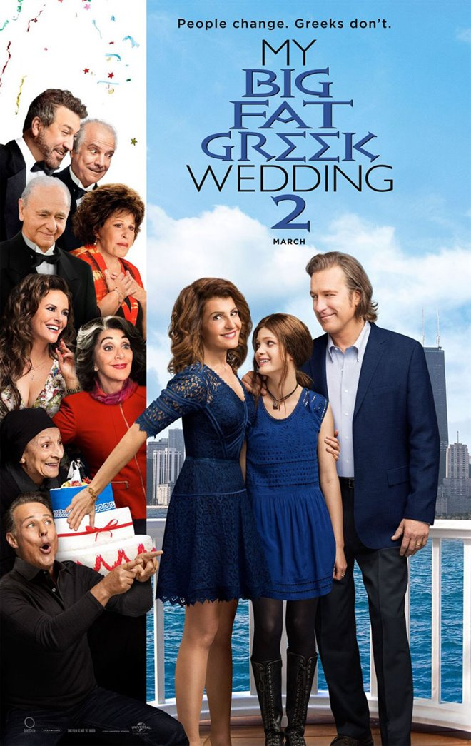 My Big Fat Greek Wedding 2 Large Poster
