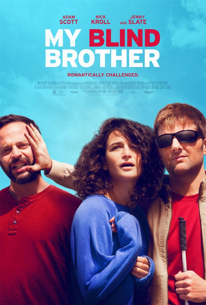 My Blind Brother Large Poster