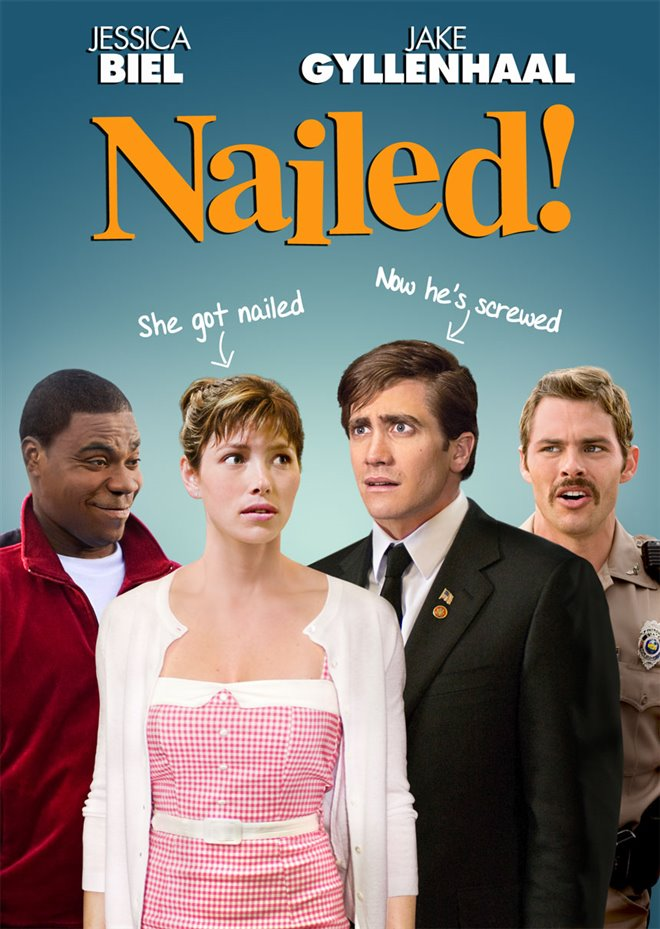 Nailed! Large Poster