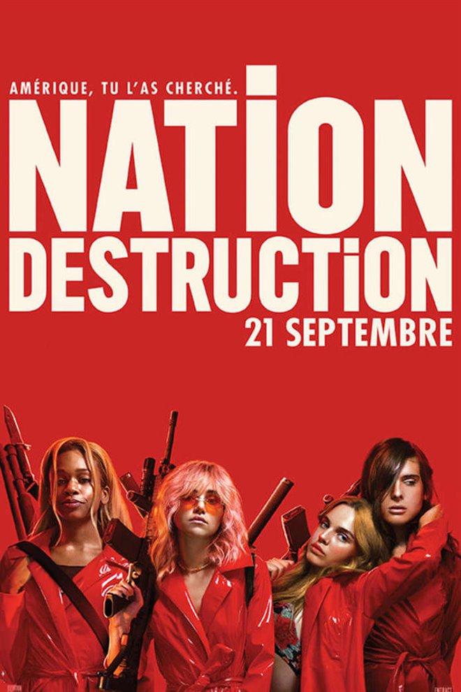 Nation destruction Large Poster