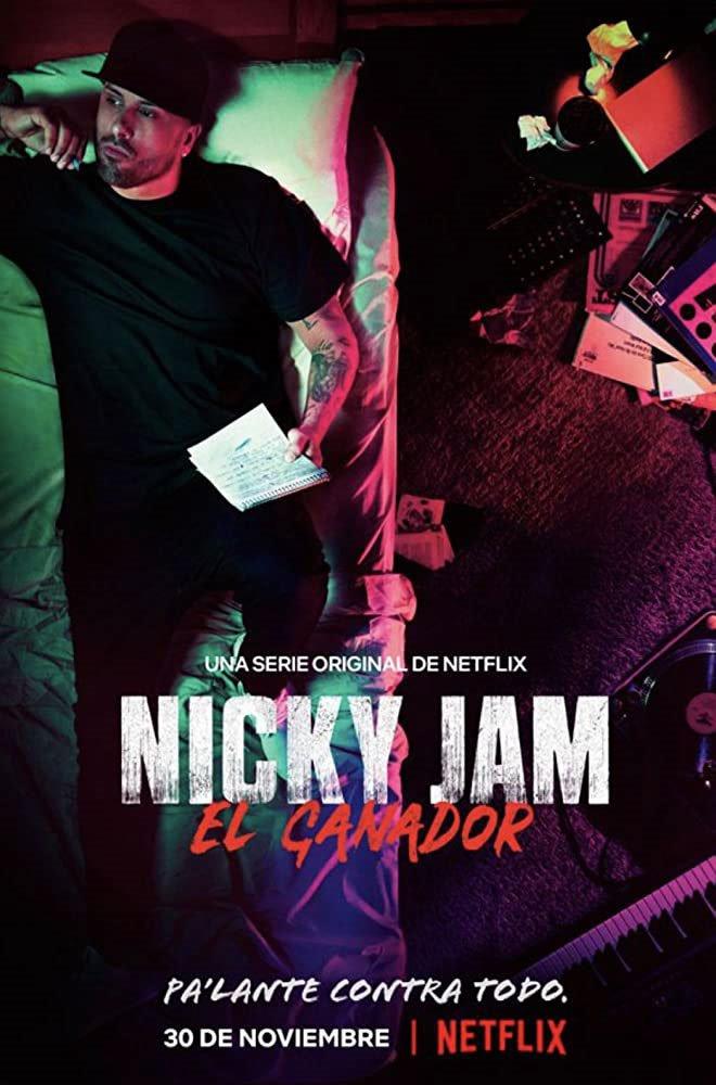 Nicky Jam: El Ganador (Netflix) Large Poster