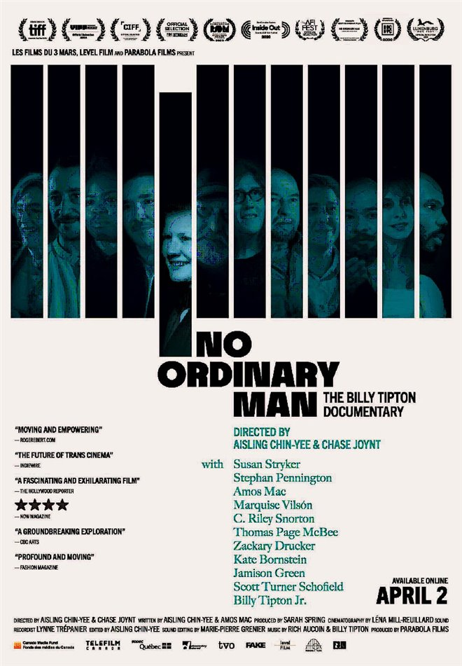 No Ordinary Man Poster