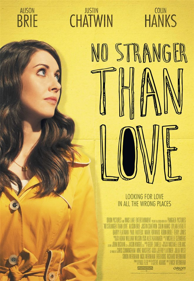 No Stranger Than Love Large Poster