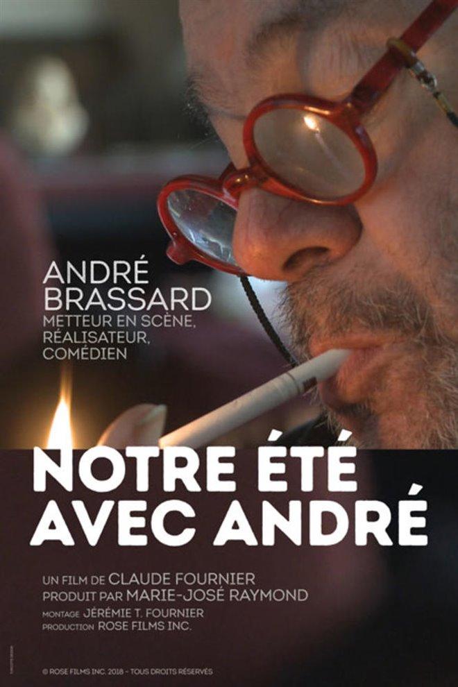 Notre été avec André Large Poster
