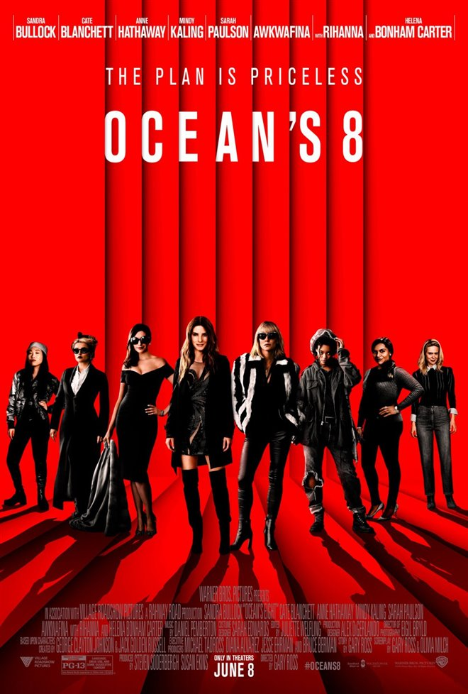 Ocean's 8 Large Poster