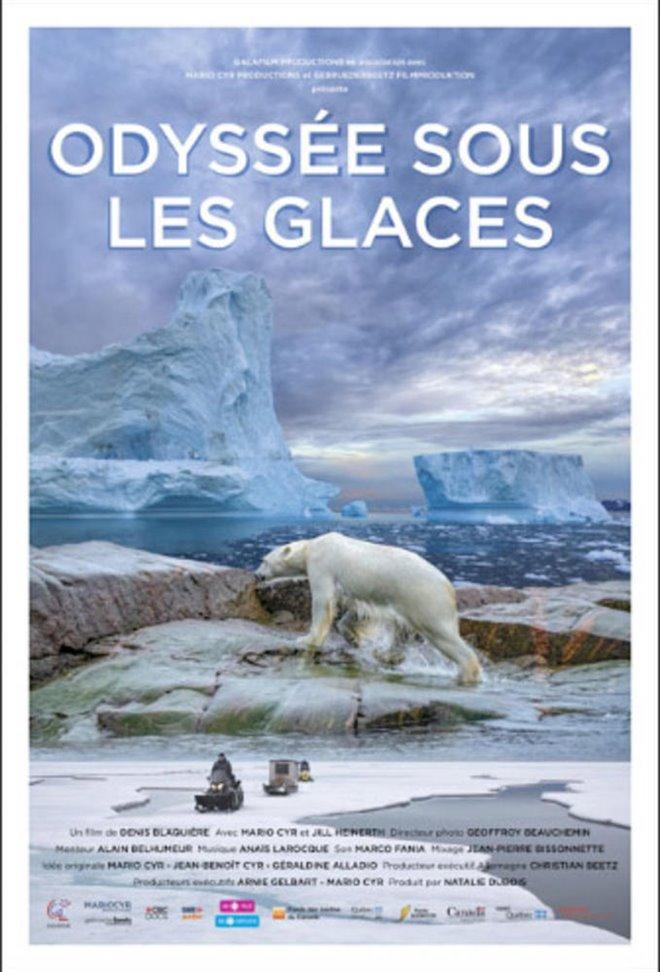 Odyssée sous les glaces Large Poster