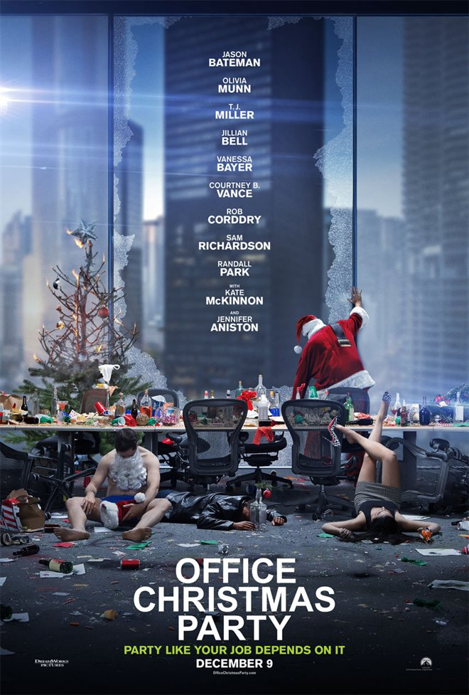 Office Christmas Party Large Poster