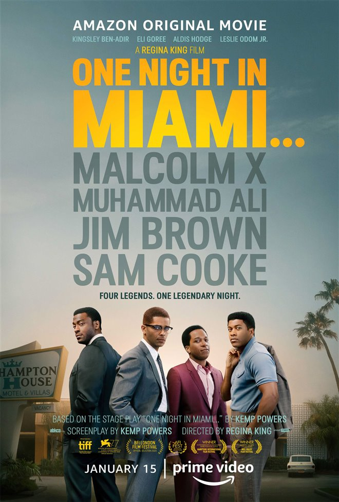 One Night in Miami... (Amazon Prime Video) Large Poster