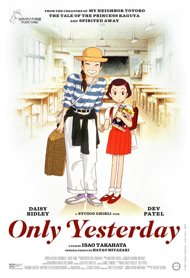 Only Yesterday (v.o.a.) Large Poster