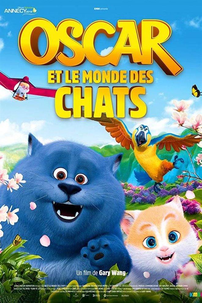 Oscar et le monde des chats Large Poster