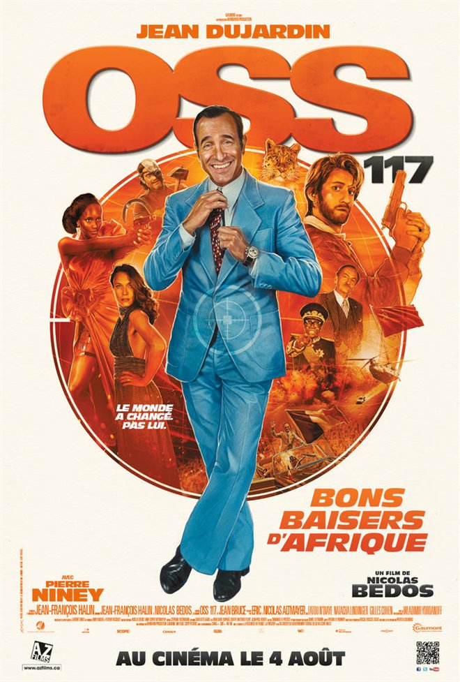 OSS 117: From Africa With Love Large Poster